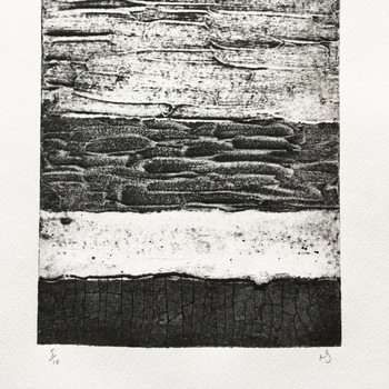 Abstract Collagraph 1 print detail 02 by Rachel Sodey at Of Cabbages and Kings