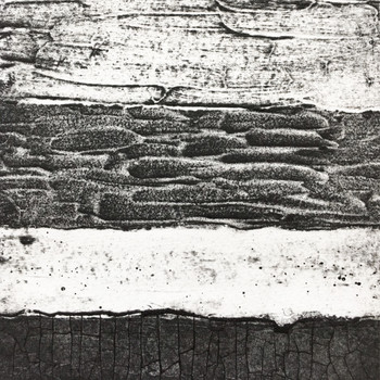 Abstract Collagraph 1 print detail 01 by Rachel Sodey at Of Cabbages and Kings