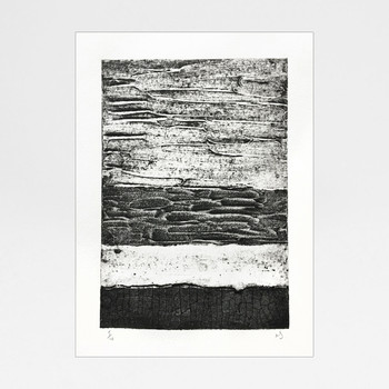 Abstract Collagraph 1 print by Rachel Sodey at Of Cabbages and Kings