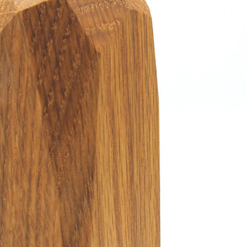 Small Dark Wooden Vase detail 01 by Priormade at Of Cabbages and Kings
