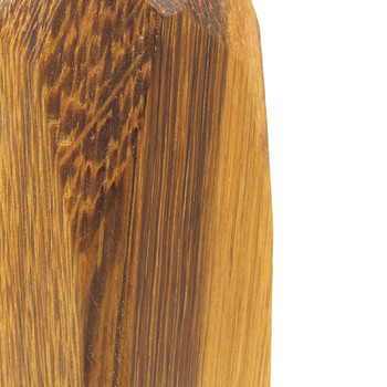 Small Dark Wooden Vase detail 02 by Priormade at Of Cabbages and Kings