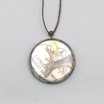 Aviary Wooden Necklace at of Cabbages and Kings