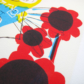 Bee Nurse print detail 03 by Factory Press at Of Cabbages and Kings