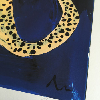 Love Itch art print cheetah detail 02 by Adam Bartlett at Of Cabbages and Kings