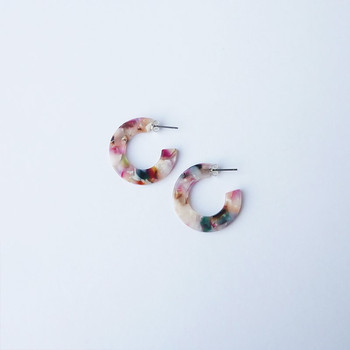 Circe Mini Hoop Earrings detail 02 by Custom Made at Of Cabbages and Kings