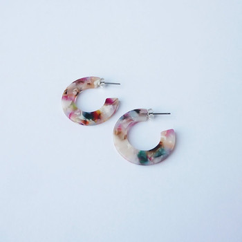 Circe Mini Hoop Earrings detail 03 by Custom Made at Of Cabbages and Kings