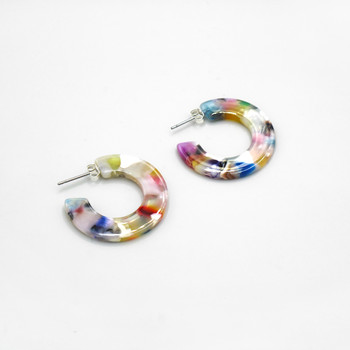 Circe Mini Hoop Earrings by Custom Made at Of Cabbages and Kings