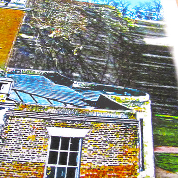 Clissold House Print detail 03 by Seán Myers at Of Cabbages and Kings