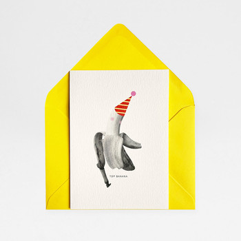 Top Banana Card by Atelier Chop at Of Cabbages and Kings