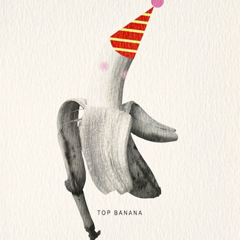 Top Banana Card detail by Atelier Chop at Of Cabbages and Kings