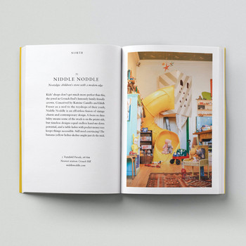 An Opinionated Guide To Kids' London book inside 01 by Hoxton Mini Press at Of Cabbages and Kings