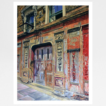 The Music Maker art print full by Marc Gooderham at Of Cabbages and Kings