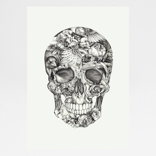 Aviary and Ivory art print by Lauren Mortimer at Of Cabbages and Kings