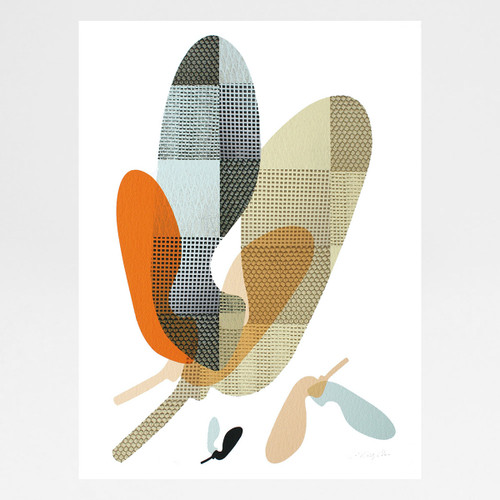 Sycamore art print by Jo Angell at Of Cabbages and Kings.