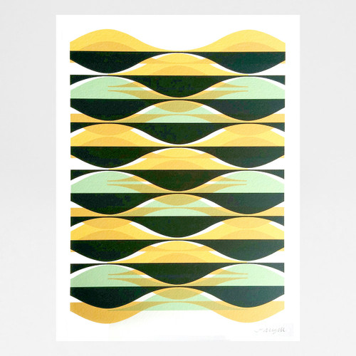 Agua art print by Jo Angell at Of Cabbages and Kings.