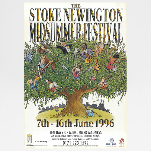 Stoke Newington Midsummer Festival 1996 by John Gosler available at Of Cabbages and Kings.