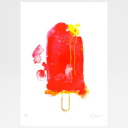 Strawberry Split screen print by Gavin Dobson at Of Cabbages and Kings