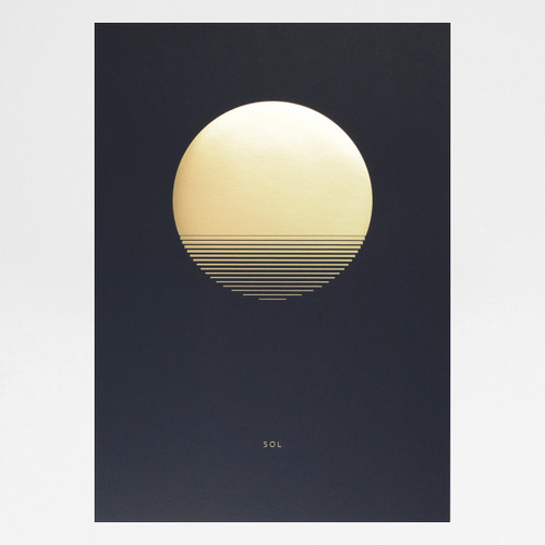 Sol Dusk art print by Tom Pigeon at Of Cabbages and Kings