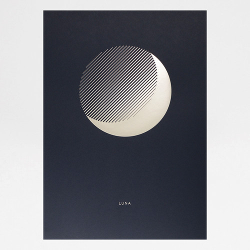 Luna Dusk art print by Tom Pigeon at Of Cabbages and Kings