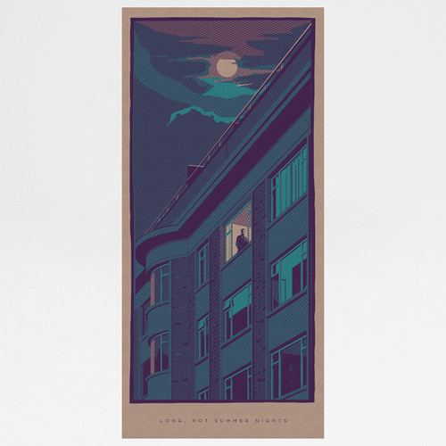 Long, Hot Summer Nights art print by Liam Devereux at Of Cabbages and Kings