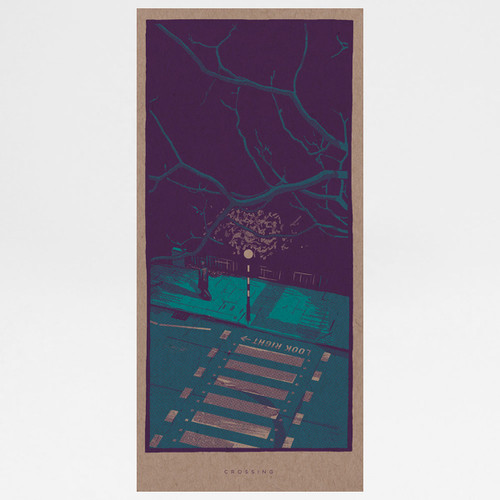 Crossing art print by Liam Devereux at Of Cabbages and Kings