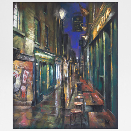 Artillery Passage art print by Marc Gooderham available at Of Cabbages and Kings.