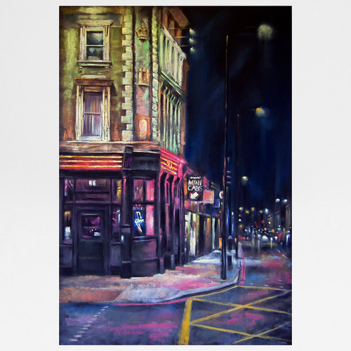 At The Junction art print by Marc Gooderham available at Of Cabbages and Kings.