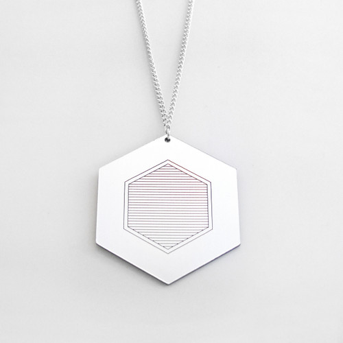 Rise Necklace by Alice Bosc at Of Cabbages and Kings