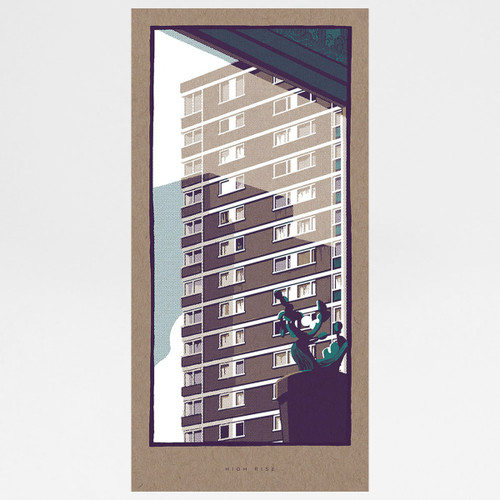 High Rise art print by Liam Devereux at Of Cabbages and Kings