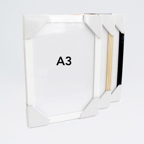 Wooden A3 Frame by Ready Made Picture Frame Company at Of Cabbages and Kings
