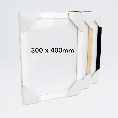 Wooden 300 x 400mm Frame by Ready Made Picture Frame Company at Of Cabbages and Kings