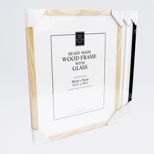Wooden Frame Frame by Ready Made Picture Frame Company at Of Cabbages and Kings