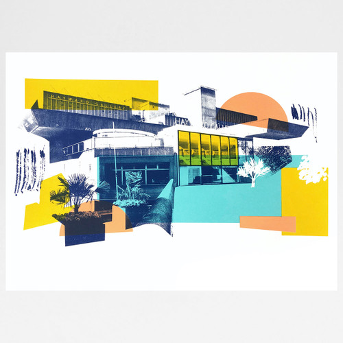 Hayward screen print by Underway Studio at Of Cabbages and Kings