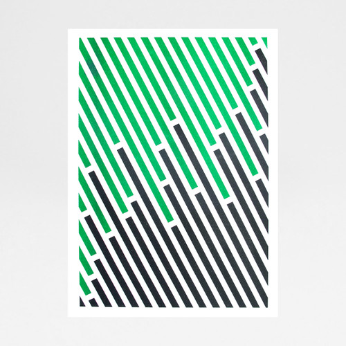 III risograph print by Brokenlogo at Of Cabbages and Kings