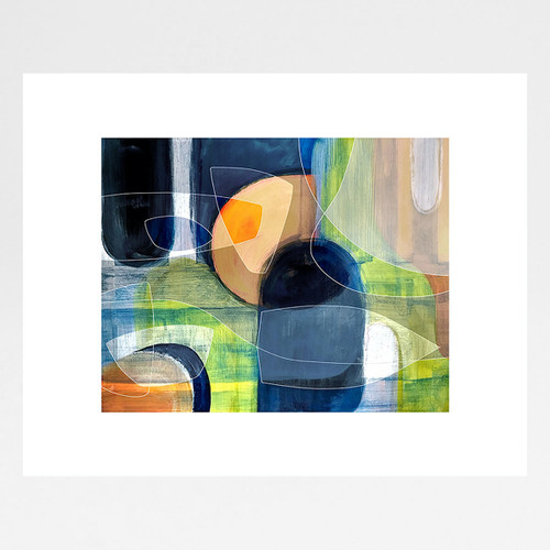 Passage 1 art print by Jo Angell at Of Cabbages and Kings