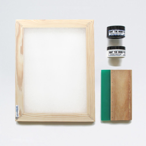 A4 Screen Printing Kit by Hunt The Moon at Of Cabbages and Kings