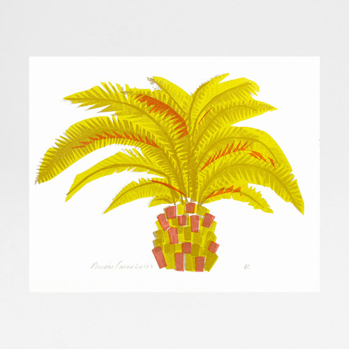 Pineapple Palm (Red) by Factory Press at Of Cabbages and Kings
