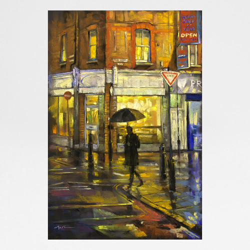 A Little Rain art print by Marc Gooderham at Of Cabbages and Kings