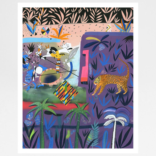 Cadmium Rush art print by Adam Bartlett at Of Cabbages and Kings
