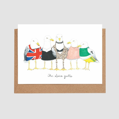 The Spice Gulls Card by Mister Peebles at Of Cabbages and Kings