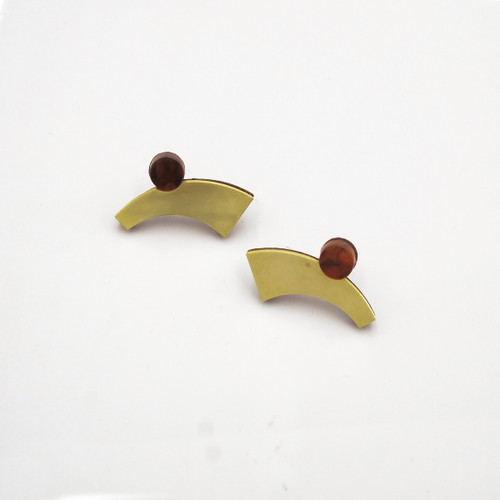 Zola I Earrings from Chalk House Jewellery at Of Cabbages and Kings