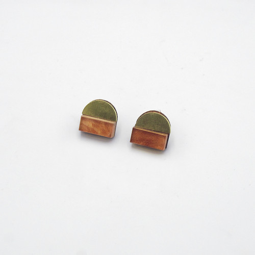 Duni Studs - Candia by Chalk House Jewellery at Of Cabbages and Kings