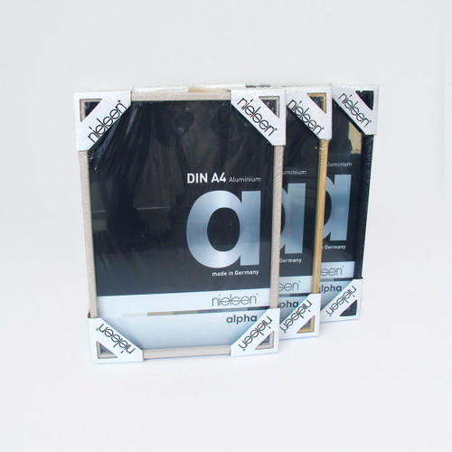 A4 Aluminium Frame by Nielsen at Of Cabbages and Kings