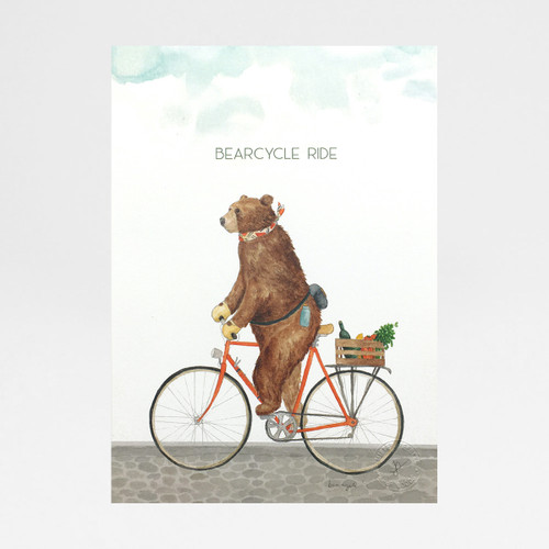 Bearcycle Ride by Mister Peebles at Of Cabbages and Kings