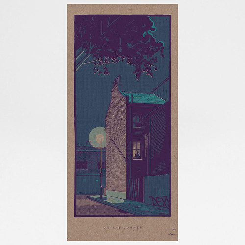 On The Corner art print by Liam Devereux at Of Cabbages and Kings