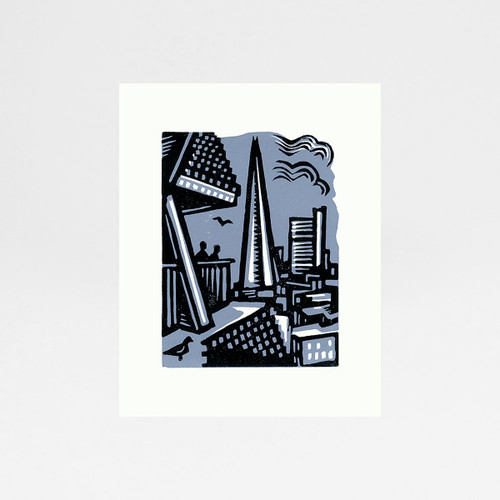 Shard From Tate Modern print by Jane Smith at Of Cabbages and Kings