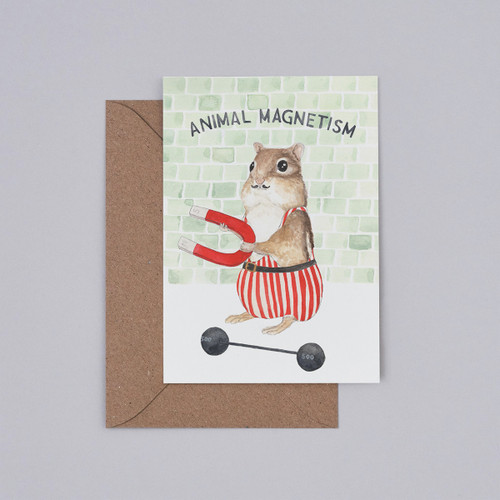 Animal Magnetism Card by Mister Peebles at Of Cabbages and Kings