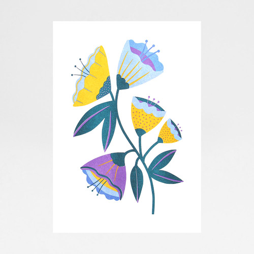 Abstract Flowers by Melissa Donne Studio at Of Cabbages and Kings