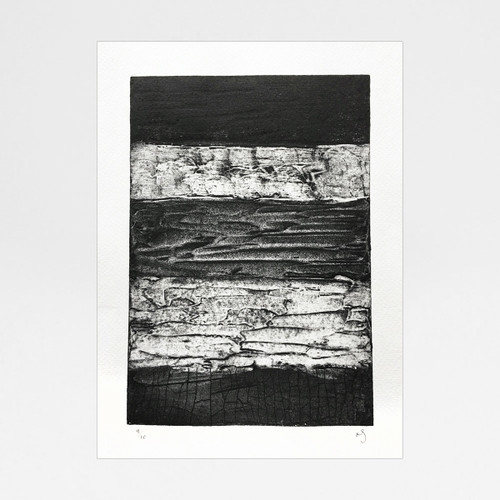 Abstract Collagraph 2 print by Rachel Sodey at Of Cabbages and Kings
