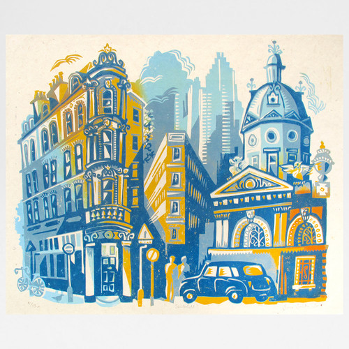 Smithfield print by Jane Smith at Of Cabbages and Kings